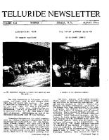 1954_Aug: First Summer Program